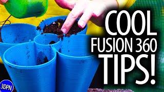 Fusion 360 Tips & Tricks for 3D Printing a Practical Garden Print!