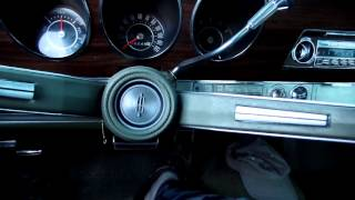 1968 Oldsmobile cold start