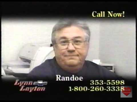 Lynn Layton Chevrolet >> Lynn Layton Chevrolet Television Commercial 2005 Bad Credit Youtube