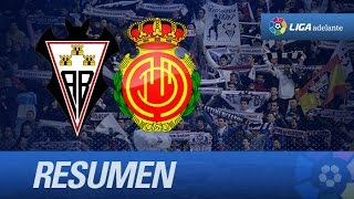 Resumen de Albacete Balompié (4-2) RCD Mallorca