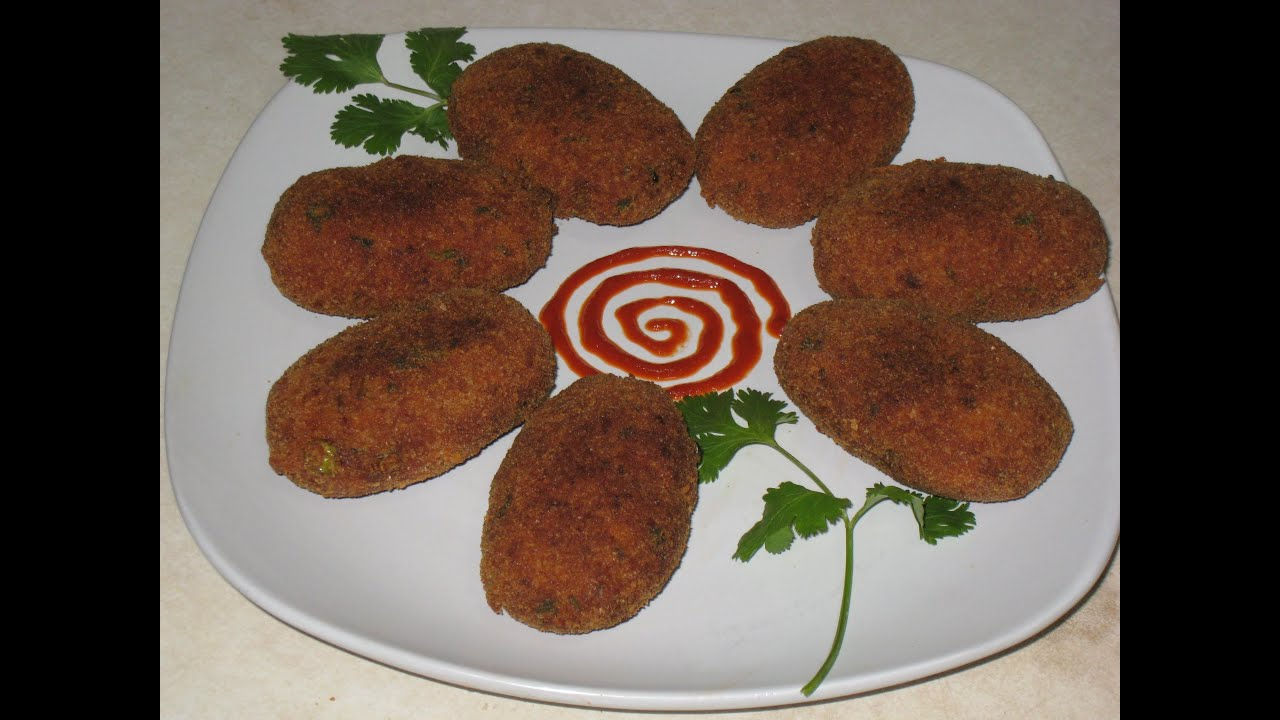 Chicken Cutlet Recipe Youtube