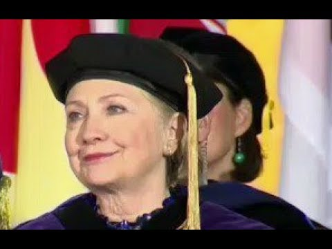 Thumbnail: Hillary Clinton commencement speech at wellesley college SLAMS Trump 5/26/2017 video