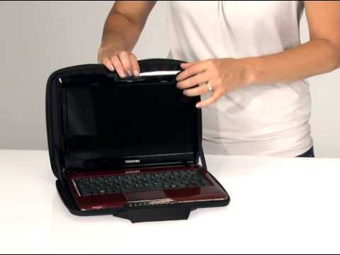 90d4a733b5 Case Logic Hard Shell Netbook and Laptop Case (QNS-111 and QNS-113) -  YouTube