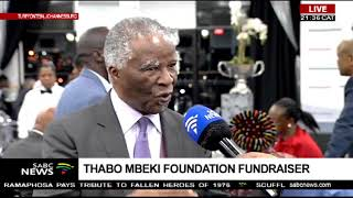Thabo Mbeki is hosting an event to raise funds for youth empowerment