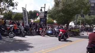 Dickson Street/Bikes Blues and BBQ 2016