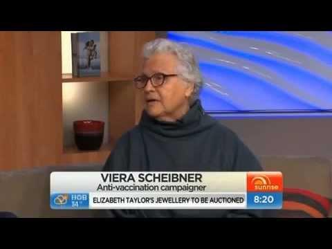 viera scheibner antivaccination on sunrise TV