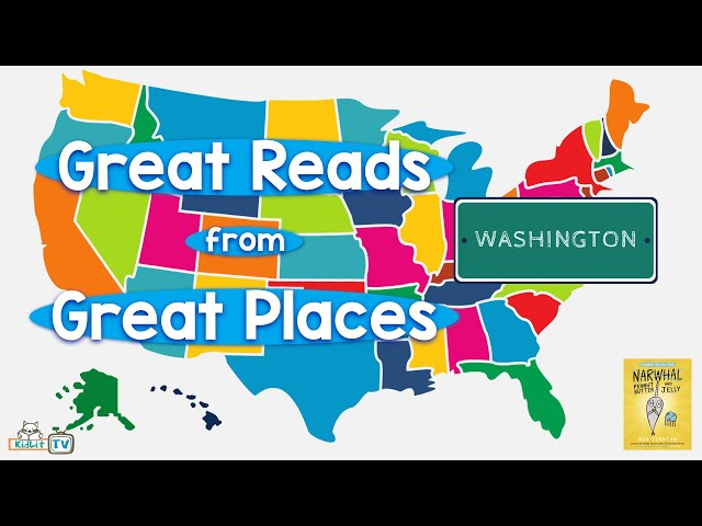 Great Reads from Great Places Ben Clanton's PEANUT BUTTER AND JELLY Washington