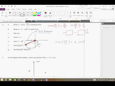 Complex Numbers introduction   4ABCD