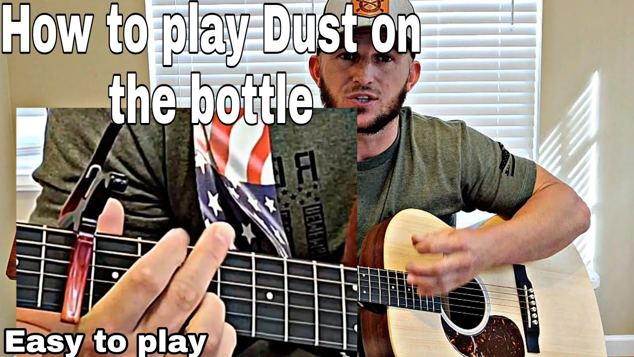 How to play Dust on the bottle by David Lee Murphy for beginners