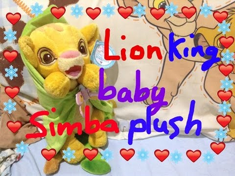 Lion King baby Simba toy review