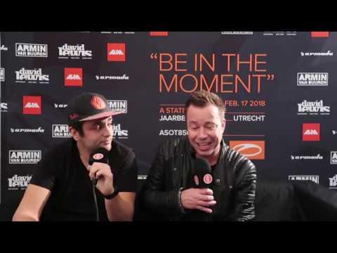 Sander Van Doorn Interview by Guettapen at Asot 850