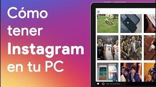 Download CÓMO instalar y tener INSTAGRAM en tu PC, ¡fácil y sencillo! Mp3 and Videos