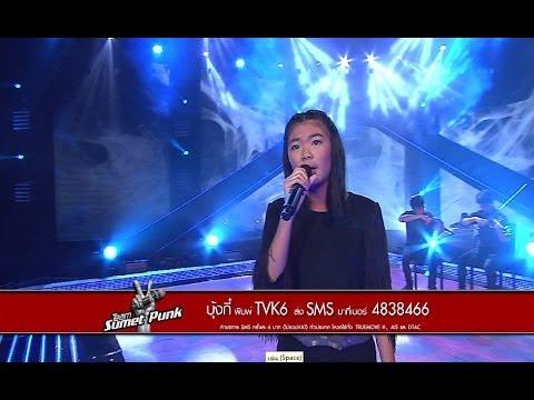 The Voice Kids Thailand - Semi Final - บุ้งกี๋ - รักเธอทั้งหมดของหัวใจ - 30 Mar 2014