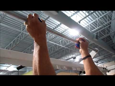 Pull-Ups Workout from easy to near impossible with Globe Gripz