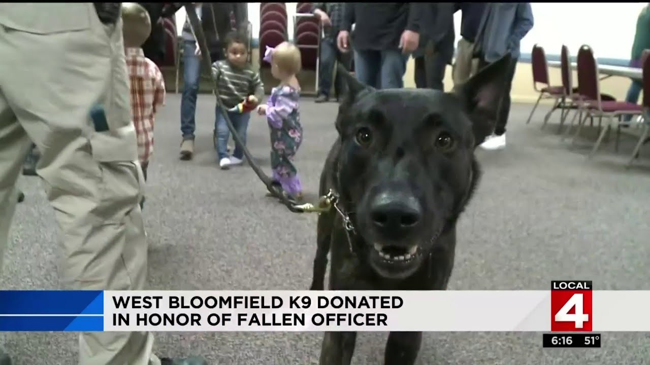 "New K-9 police dog named after fallen Officer Glenn Doss (Black ""Coon"" Officer)"