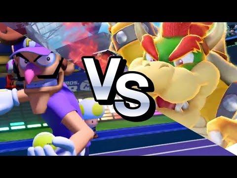 ZeRo vs #1 Player World Ranking Simple Mode (Shmo21) - Mario Tennis Aces