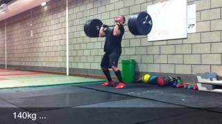 300kg Deadlift & 150kg C&J @80kg