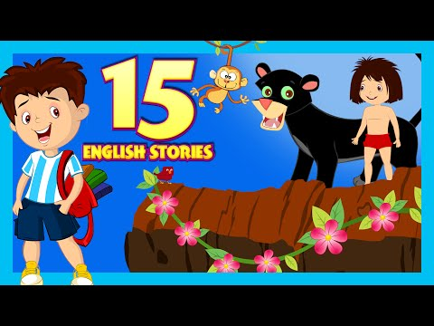 English Stories For Kids - Short Story Collection | 15 English Short Stories For Children