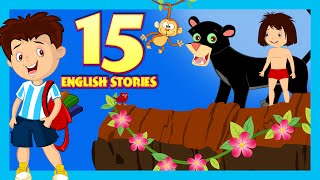 English Stories For Kids  Short Story Collection | 15 English Short Stories For Children