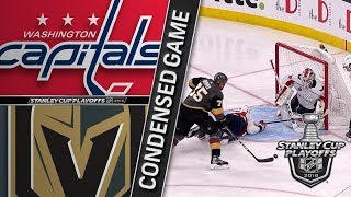 Washington Capitals vs Vegas Golden Knights Cup Final, Gm1 May 28, 2018 HIGHLIGHTS HD