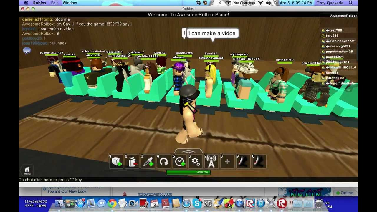 Roblox musical chairs youtube - Musical Chairs Roblox