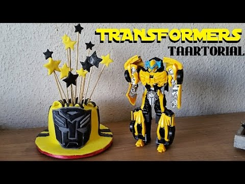 TRANSFORMERS BUMBLEBEE CAKE | TAARTORIAL CRAFTMAMA