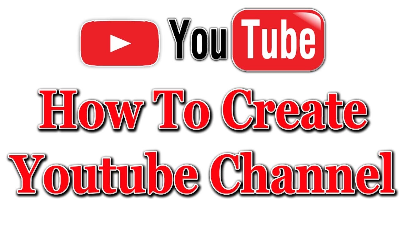 How to create a YouTube channel How to name a YouTube channel 62