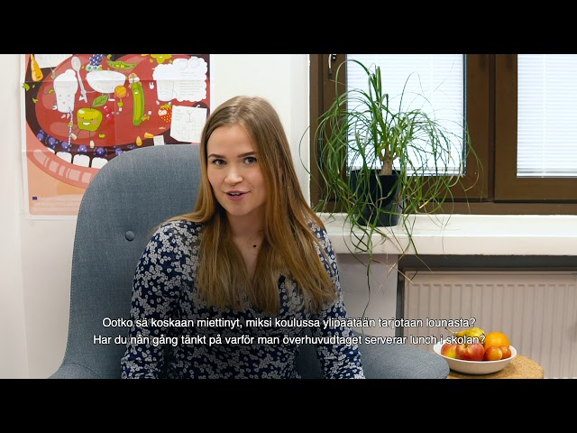 Thumbnail of video called Kouluruoka: miksi kouluruokaa tarjotaan?