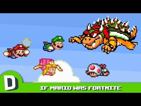 If Mario Had a Battle Royale Mode