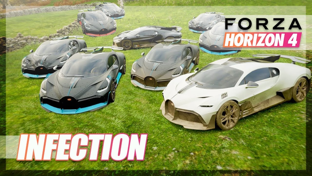 Forza Horizon 4 - Bugatti Divo Infection! (Funny Moments) thumbnail