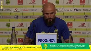 LIVE  - FC Nantes - Dijon FCO | Conférence de presse d'avant-match