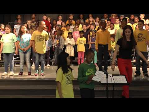 2018 3rd Grade Musical Performance