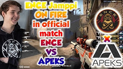 ENCE Jamppi ON FIRE in official match ENCE vs APEKS in Mirage