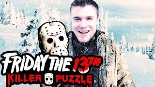 ZOSTAŁEM ŚNIEŻNYM JASONEM! | Friday The 13th: Killer Puzzle [#2]