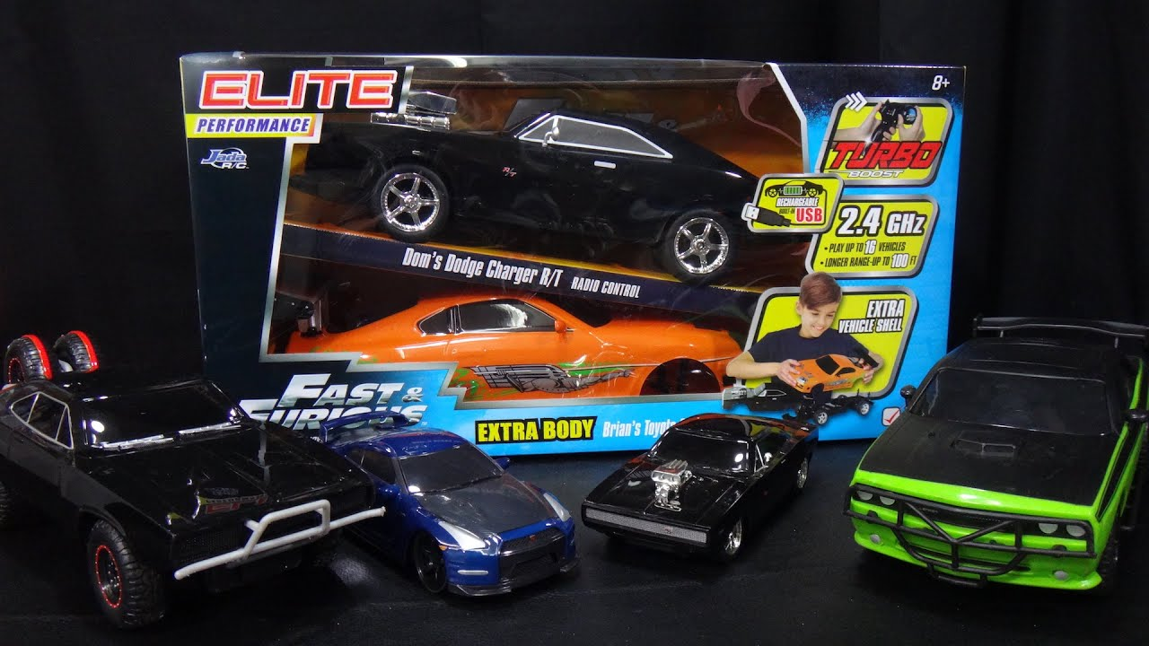 Fast And Furious Remote Control Car Dodge Charger And Toyota