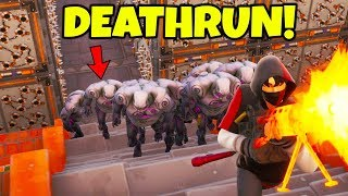 NEW ZOMBIE DEATHRUN!!! (Fortnite Creative