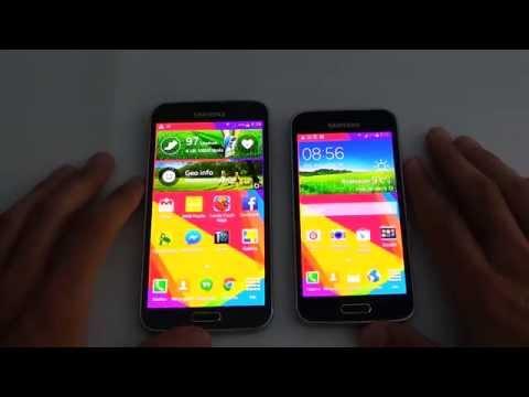 Samsung Galaxy S5 Mini vs Galaxy S5 teszt