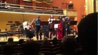 Antonio Vivaldi / Concert h minor for four violins, I. Allegro // Jan Honza Hofman / housle / violin