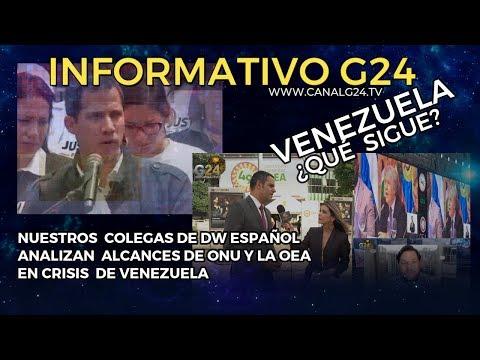 G24- ¿QUÉ SIGUE PARA VENEZUELA ?#OEA #ONU #Análisis con los colegas #DW-Español