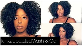 vuclip KINKZ UPDATED WASH & GO | SUPER THICK TYPE 4 HAIR