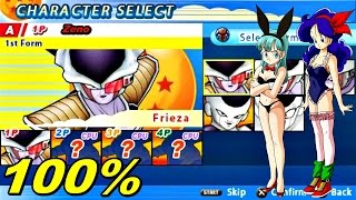 Dragonball Z Tenkaichi tag team PSP 100% +Save Game