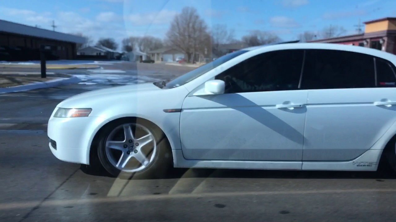 Acura TL LOW YouTube - 2004 acura tl coilovers