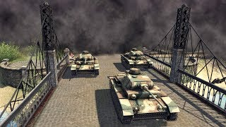 Armored Advance to Bridge Crossing, Major Port Captured 1942 | Men of War: Assault Squad 2 Gameplay