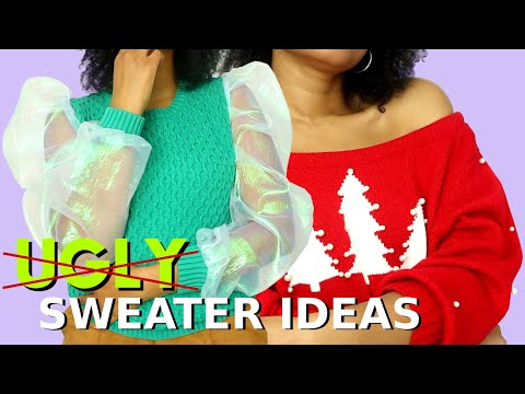 DIY Not So Ugly Christmas Sweater Ideas!