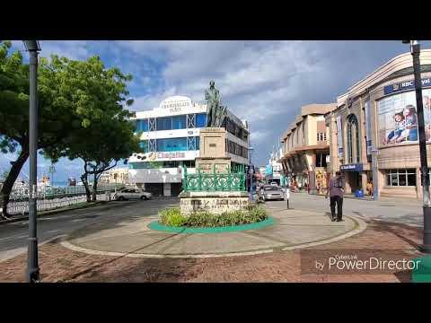 Bridgetown, the Capital of Barbados