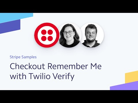 Checkout Remember Me With Twilio Verify