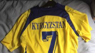 Kyrgyzstan National Football Shirt Jersey by Grand Sport 1634b77c3