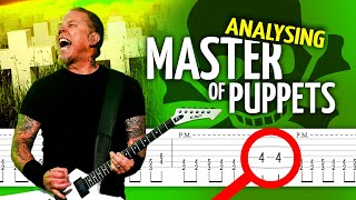 MASTER OF PUPPETS ☠ (and Metallica's BIGGEST MISTAKE recorded in studio)