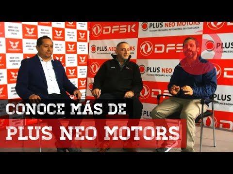 Plus Neo Motors | Pedro Canales - Gerente General | Martín Burga - Gerente Comercial