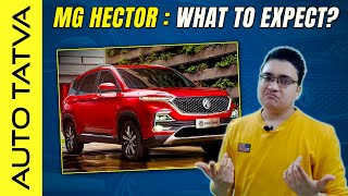 MG Hector SUV   What To Expect ?   Hindi   Auto Tatva